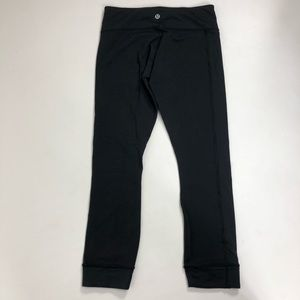 Lululemon black Hi times pants. Size 4
